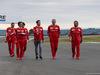 GP GRAN BRETAGNA, 13.07.2017 - Sebastian Vettel (GER) Ferrari SF70H e Maurizio Arrivabene (ITA) Ferrari Team Principal