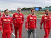 GP GRAN BRETAGNA, 13.07.2017 - Maurizio Arrivabene (ITA) Ferrari Team Principal e Sebastian Vettel (GER) Ferrari SF70H