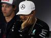 GP GRAN BRETAGNA, 13.07.2017 - Conferenza Stampa, Daniil Kvyat (RUS) Scuderia Toro Rosso STR12 e Lewis Hamilton (GBR) Mercedes AMG F1 W08