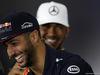 GP GRAN BRETAGNA, 13.07.2017 - Conferenza Stampa, Daniel Ricciardo (AUS) Red Bull Racing RB13 e Lewis Hamilton (GBR) Mercedes AMG F1 W08