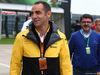 GP GRAN BRETAGNA, 15.07.2017 - Cyril Abiteboul (FRA) Renault Sport F1 Managing Director e Luis Garcia Abad (ESP), manager of Fernando Alonso (ESP)