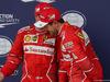 GP GRAN BRETAGNA, 15.07.2017 - Qualifiche, 2nd place Kimi Raikkonen (FIN) Ferrari SF70H e 3rd place Sebastian Vettel (GER) Ferrari SF70H
