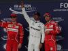 GP GRAN BRETAGNA, 15.07.2017 - Qualifiche, 2nd place Kimi Raikkonen (FIN) Ferrari SF70H, Lewis Hamilton (GBR) Mercedes AMG F1 W08 pole position e 3rd place Sebastian Vettel (GER) Ferrari SF70H