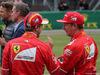 GP GRAN BRETAGNA, 15.07.2017 - Qualifiche, Sebastian Vettel (GER) Ferrari SF70H e Kimi Raikkonen (FIN) Ferrari SF70H
