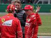 GP GRAN BRETAGNA, 15.07.2017 - Qualifiche, Sebastian Vettel (GER) Ferrari SF70H, Jenson Button (GBR) e Kimi Raikkonen (FIN) Ferrari SF70H