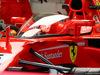 GP GRAN BRETAGNA, 14.07.2017 - Free Practice 1, Shield cockpit cover on the Ferrari SF70H