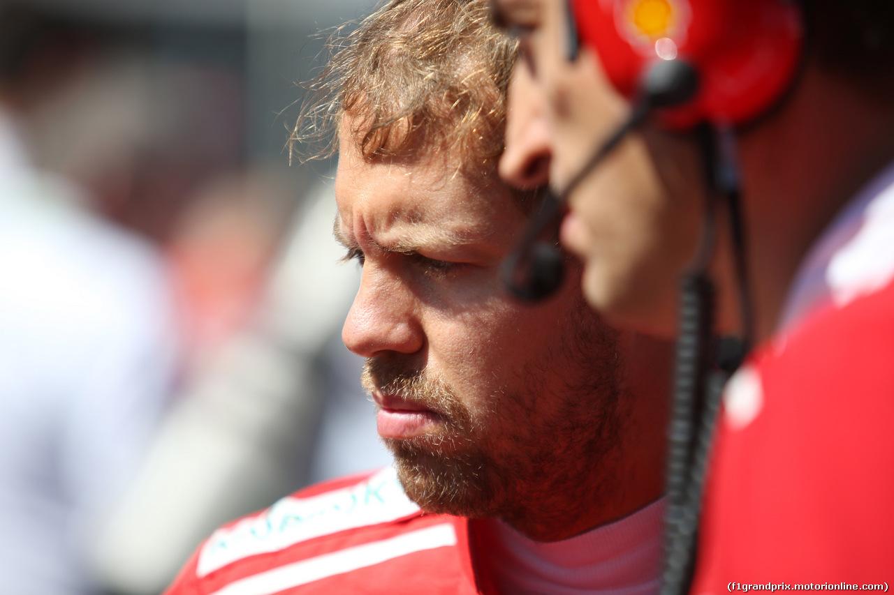 GP ITALIA, 03.09.2017- Sebastian Vettel (GER) Ferrari SF70H