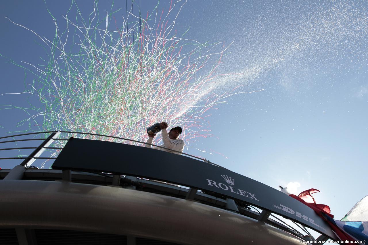 GP ITALIA, 03.09.2017- Podium winner Lewis Hamilton (GBR) Mercedes AMG F1 W08