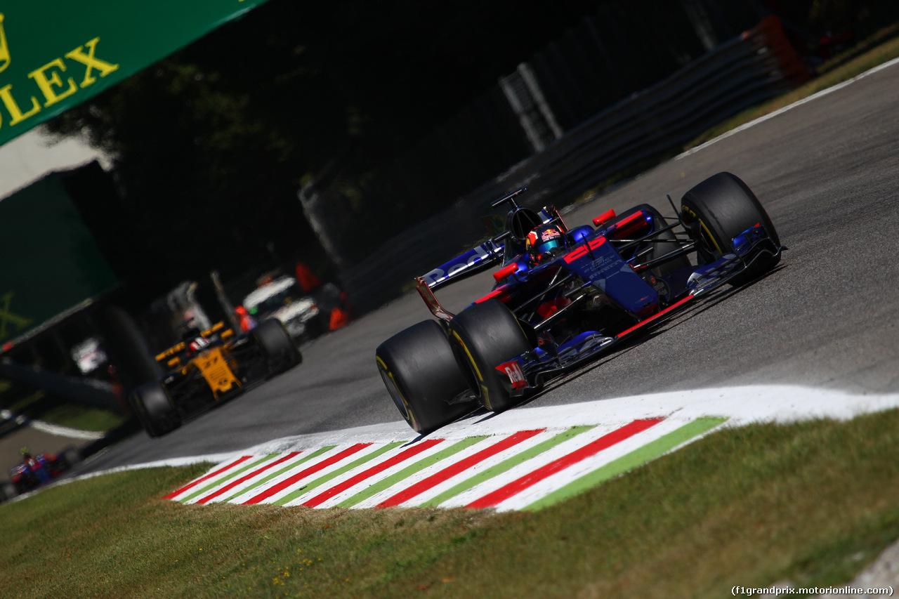GP ITALIA, 03.09.2017- Gara, Daniil Kvyat (RUS) Scuderia Toro Rosso STR12