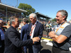 GP ITALIA, 03.09.2017- Gara, partenzaing grid Marco Tronchetti Provera (ITA) Pirelli Chairman with Jean Alesi (FRA) e Mario Isola (ITA), Sporting Director Pirelli