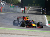 GP ITALIA, 03.09.2017- Gara, Max Verstappen (NED) Red Bull Racing RB13 with broken tire