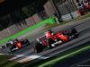 GP ITALIA, 03.09.2017- Gara, Sebastian Vettel (GER) Ferrari SF70H e Kimi Raikkonen (FIN) Ferrari SF70H