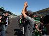 GP ITALIA, 03.09.2017- drivers parade, Fernando Alonso (ESP) McLaren Honda MCL32 historic car has a problem