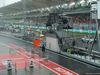 GP MALESIA, 01.10.2017 - Rain falls in the pit lane