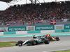 GP MALESIA, 01.10.2017 - Gara, Lewis Hamilton (GBR) Mercedes AMG F1 W08 davanti a Max Verstappen (NED) Red Bull Racing RB13