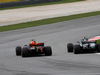 GP MALESIA, 01.10.2017 - Gara, Daniel Ricciardo (AUS) Red Bull Racing RB13 e Valtteri Bottas (FIN) Mercedes AMG F1 W08