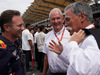 GP MALESIA, 01.10.2017 - Gara, Christian Horner (GBR), Red Bull Racing, Sporting Director, Helmut Marko (AUT), Red Bull Racing, Red Bull Advisor e Chase Carey (USA) Formula One Group Chairman