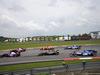 GP MALESIA, 01.10.2017 - Gara, Start of the race, Romain Grosjean (FRA) Haas F1 Team VF-17 e Sebastian Vettel (GER) Ferrari SF70H
