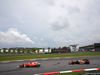 GP MALESIA, 01.10.2017 - Gara, Sebastian Vettel (GER) Ferrari SF70H e Fernando Alonso (ESP) McLaren MCL32