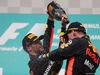GP MALESIA, 01.10.2017 - Gara, 3rd place Daniel Ricciardo (AUS) Red Bull Racing RB13 e Max Verstappen (NED) Red Bull Racing RB13 vincitore