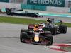 GP MALESIA, 01.10.2017 - Gara, Max Verstappen (NED) Red Bull Racing RB13 davanti a Lewis Hamilton (GBR) Mercedes AMG F1 W08
