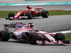 GP MALESIA, 01.10.2017 - Gara, Sergio Perez (MEX) Sahara Force India F1 VJM010 davanti a Sebastian Vettel (GER) Ferrari SF70H