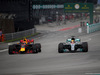 GP MALESIA, 01.10.2017 - Gara, Max Verstappen (NED) Red Bull Racing RB13 e Lewis Hamilton (GBR) Mercedes AMG F1 W08