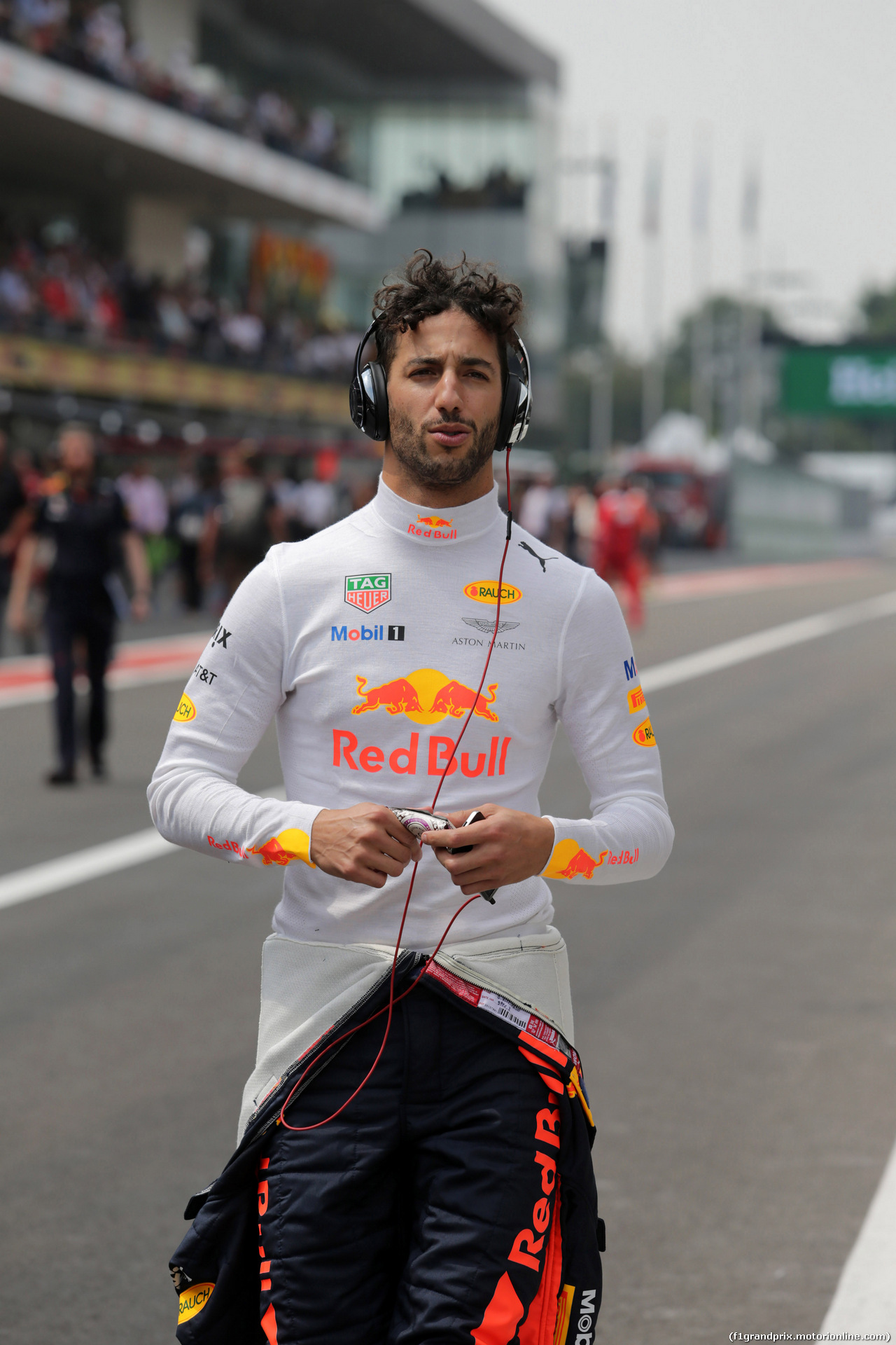 GP MESSICO, 29.10.2017 - Gara, Daniel Ricciardo (AUS) Red Bull Racing RB13