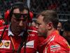 GP MESSICO, 29.10.2017 - Gara, Riccardo Adami (ITA) Ferrari Gara Engineer e Sebastian Vettel (GER) Ferrari SF70H