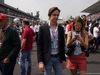 GP MESSICO, 29.10.2017 - Gara, Nikki Lauda (AU), Mercedes e Esteban Gutierrez (MEX)
