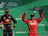 GP MESSICO, 29.10.2017 - Gara, Max Verstappen (NED) Red Bull Racing RB13 vincitore e 3rd place Kimi Raikkonen (FIN) Ferrari SF70H