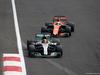 GP MESSICO, 29.10.2017 - Gara, Lewis Hamilton (GBR) Mercedes AMG F1 W08 e Fernando Alonso (ESP) McLaren MCL32