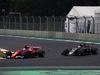 GP MESSICO, 29.10.2017 - Gara, Sebastian Vettel (GER) Ferrari SF70H e Kevin Magnussen (DEN) Haas F1 Team VF-17