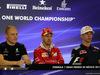 GP MESSICO, 26.10.2017 - Conferenza Stampa, Valtteri Bottas (FIN) Mercedes AMG F1 W08, Sebastian Vettel (GER) Ferrari SF70H e Pierre Gasly (FRA) Scuderia Toro Rosso STR12