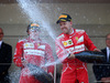 GP MONACO, 28.05.2017 - Gara, 2nd place Kimi Raikkonen (FIN) Ferrari SF70H e Sebastian Vettel (GER) Ferrari SF70H vincitore