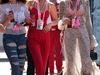 GP MONACO, 28.05.2017 - Gara, Keshia Peterson, Model, Bella Hadid (USA) Model e Chantelle Winnie (CAN) Model