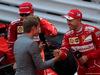 GP MONACO, 28.05.2017 - Gara, Sebastian Vettel (GER) Ferrari SF70H vincitore e Nico Rosberg (GER)