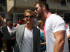 GP MONACO, 28.05.2017 - Gara, Nico Rosberg (GER) e Chris Hemsworth (AUS) Actor