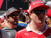 GP RUSSIA, 30.04.2017 - Fernando Alonso (ESP) McLaren MCL32 e Kimi Raikkonen (FIN) Ferrari SF70H at drivers parade