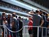 GP RUSSIA, 30.04.2017 - Kimi Raikkonen (FIN) Ferrari SF70H at drivers parade