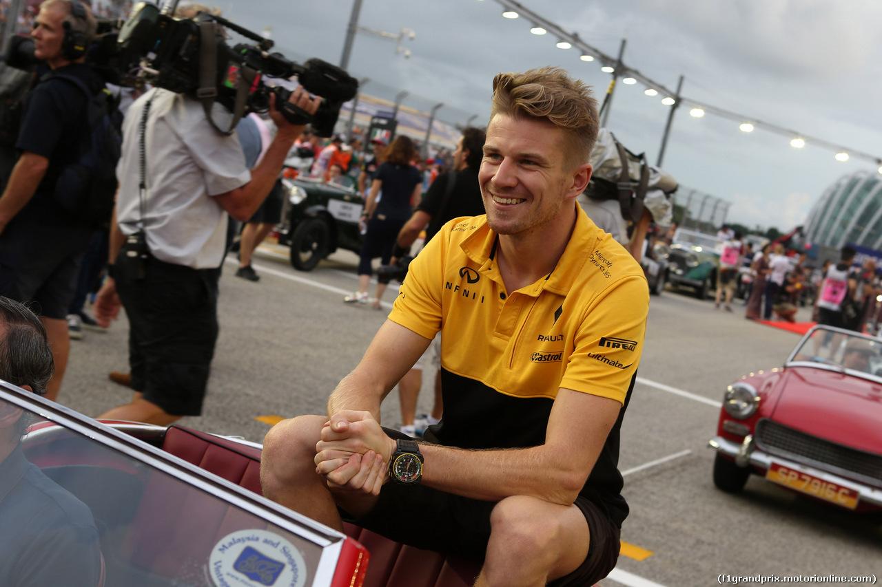GP SINGAPORE, 17.09.2017 - Nico Hulkenberg (GER) Renault Sport F1 Team RS17