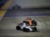 GP SINGAPORE, 17.09.2017 - Gara, Felipe Massa (BRA) Williams FW40 e Fernando Alonso (ESP) McLaren MCL32