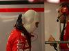 GP SINGAPORE, 17.09.2017 - Gara, Sebastian Vettel (GER) Ferrari SF70H e Riccardo Adami (ITA) Ferrari Gara Engineer