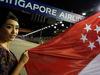 GP SINGAPORE, 17.09.2017 - Gara, griglia Ragazza