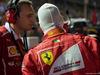 GP SINGAPORE, 17.09.2017 - Gara, Riccardo Adami (ITA) Ferrari Gara Engineer e Sebastian Vettel (GER) Ferrari SF70H