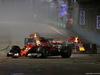 GP SINGAPORE, 17.09.2017 - Gara, Sebastian Vettel (GER) Ferrari SF70H e Max Verstappen (NED) Red Bull Racing RB13