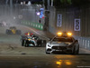 GP SINGAPORE, 17.09.2017 - Gara, The Safety car e Lewis Hamilton (GBR) Mercedes AMG F1 W08