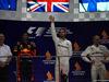 GP SINGAPORE, 17.09.2017 - Gara, 2nd place Daniel Ricciardo (AUS) Red Bull Racing RB13, Lewis Hamilton (GBR) Mercedes AMG F1 W08 vincitore e 3rd place Valtteri Bottas (FIN) Mercedes AMG F1 W08