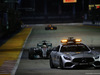 GP SINGAPORE, 17.09.2017 - Gara, Safety car e Lewis Hamilton (GBR) Mercedes AMG F1 W08
