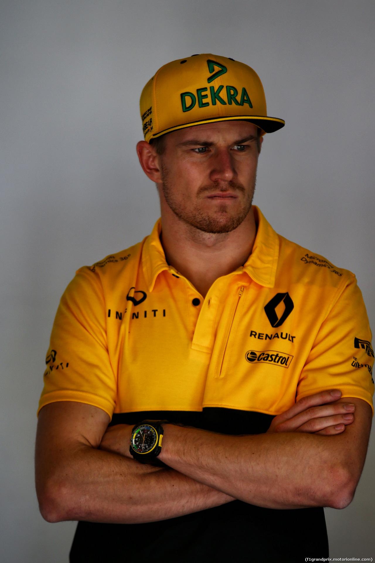 GP SPAGNA, Nico Hulkenberg (GER) Renault Sport F1 Team. 14.05.2017.